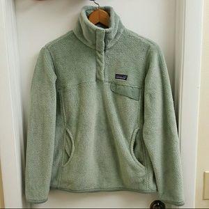 😍RARE Patagonia retool snapT fleece pullover sz S